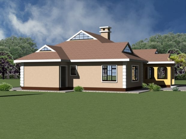 4 Bedroom House Plans Single Story