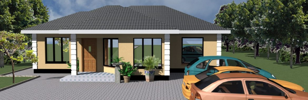 3 Bedroom Design 1239 B