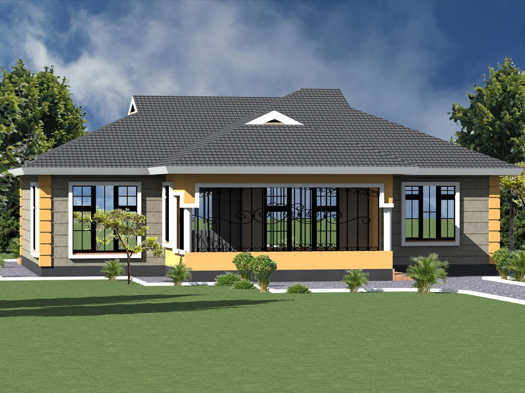 Low Cost House Plans In Kenya