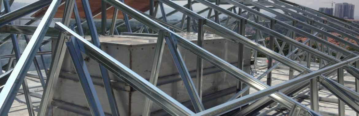Steel Truss Details: Step by Step Installation Process.