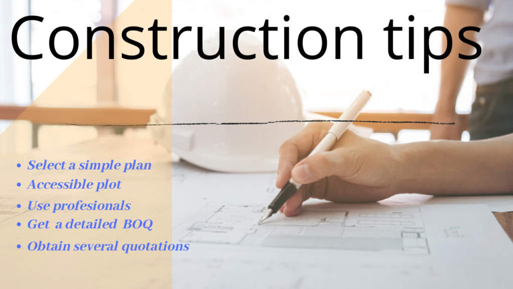 Construction tips 2