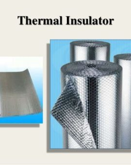 Thermal Insulation  in Buildings: 5 Common insulation Materials.