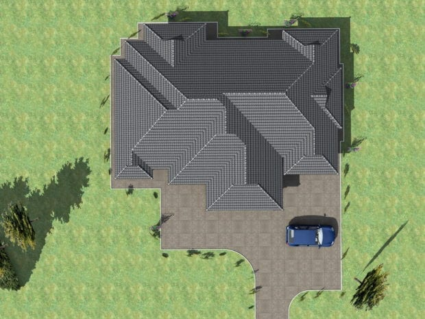4 Bedroom design 1256 B 1