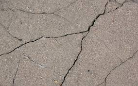 Types of crack in concrete