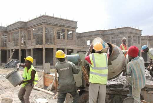 labour construction cost kenya