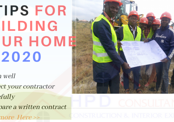 Tips for building your home this year ( 2020 )