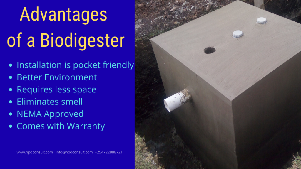 Advantages of a Biodigester