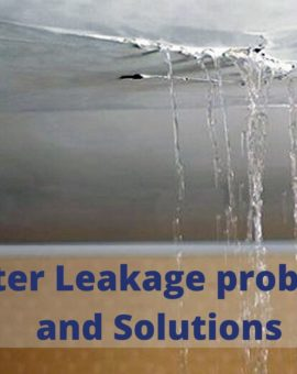 Water Leakage Problem in Buildings: Major Causes & Solutions