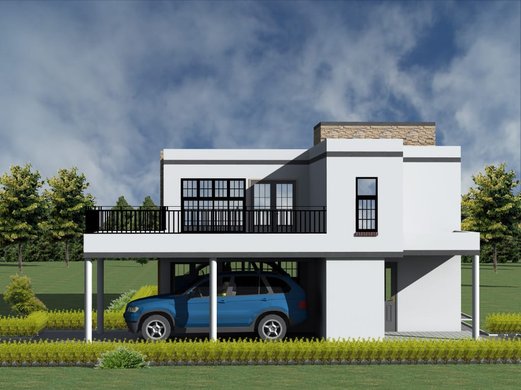 Flat Roof House Main Advantages And Disadvantages Of Flat Roofs